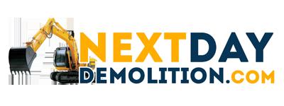 Next Day Demolition Plano Logo
